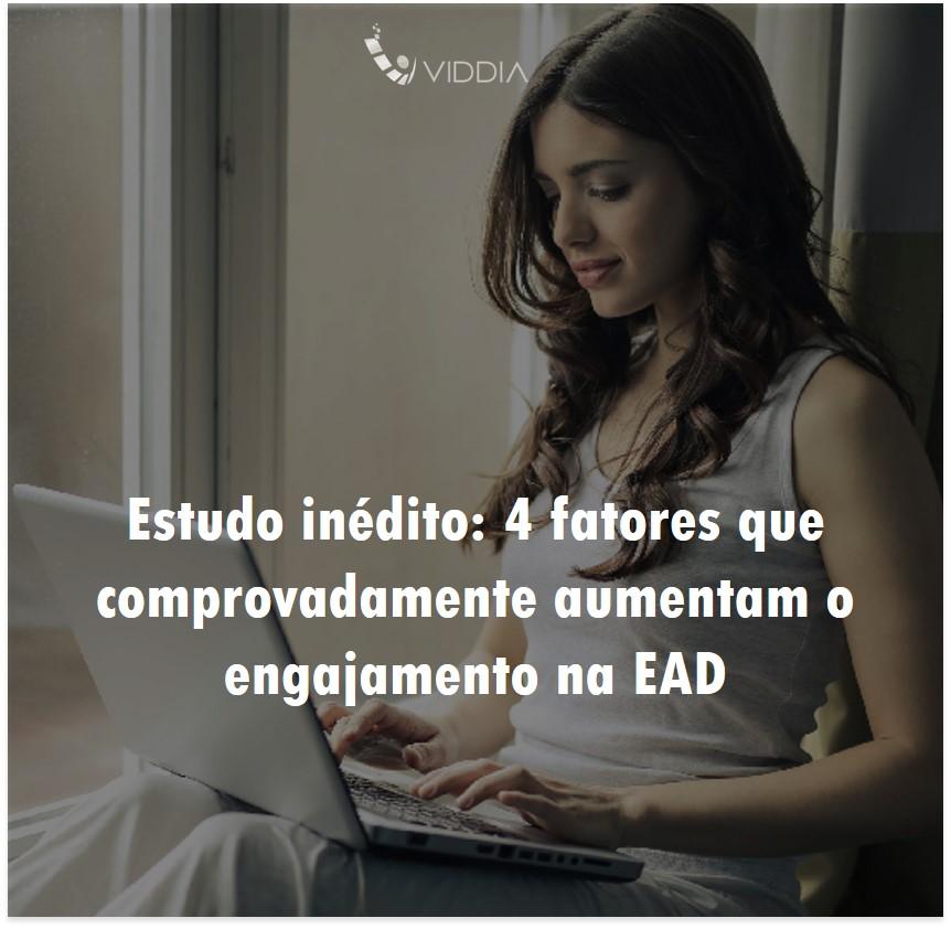 Estudo inédito: 4 fatores que comprovadamente aumentam o engajamento na EAD