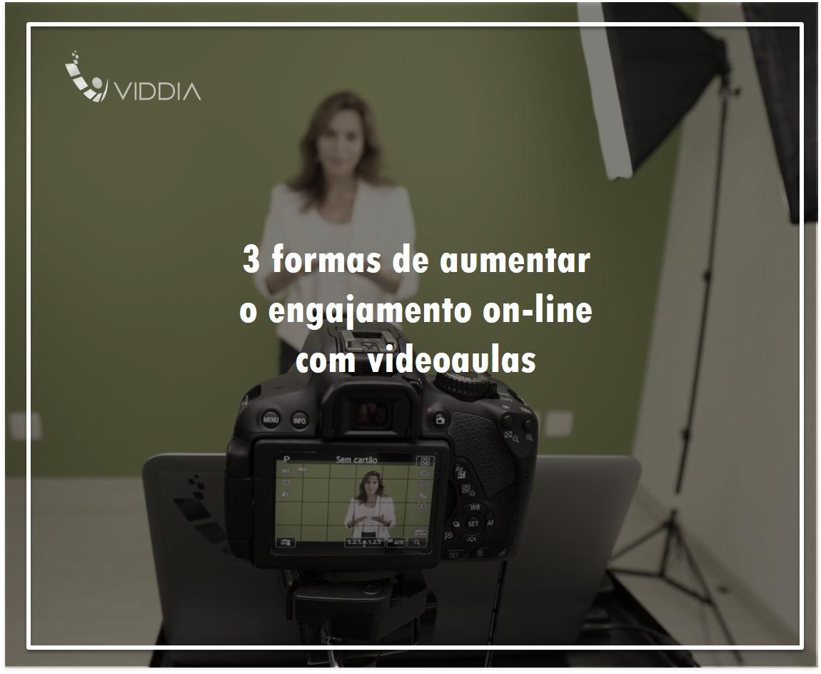 3 formas de aumentar o engajamento on-line com videoaulas