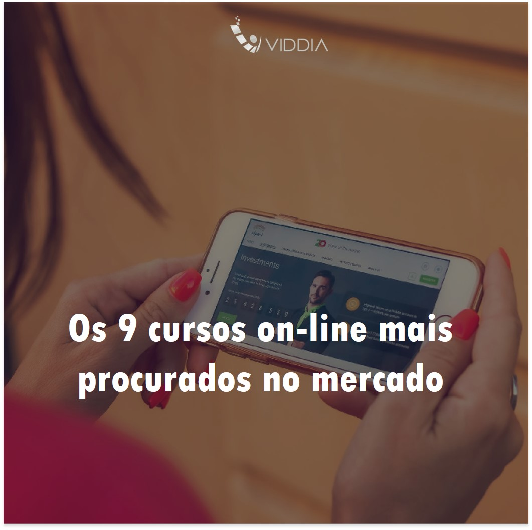 Os 9 cursos on-line mais procurados no mercado