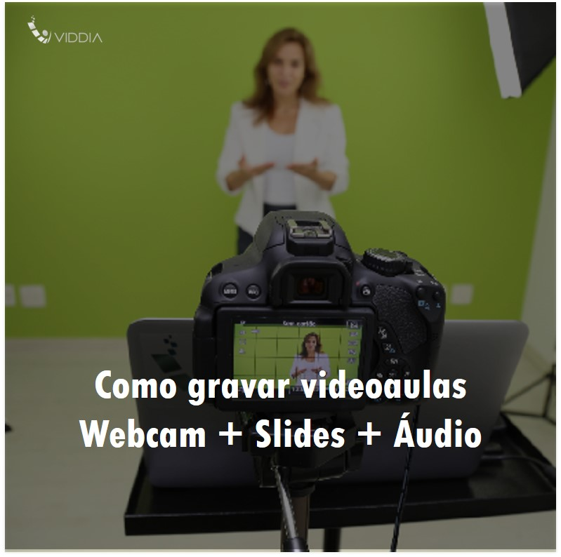 Como gravar videoaulas (slides + webcam + áudio) com apenas uma extensão